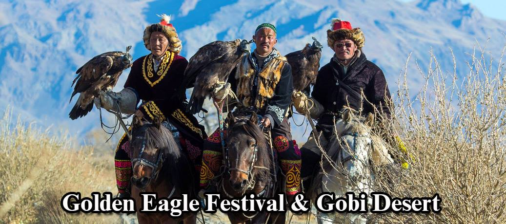 Golden Eagle Festival and Gobi desert