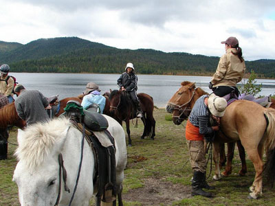 Horse trip around khuvsgul lake (8 days / 7 nights)