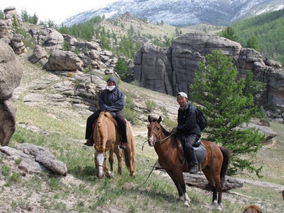 Horse riding in central part of Mongolia (14 days / 13 nights)